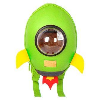 Рюкзак Supercute Ракета Зеленый