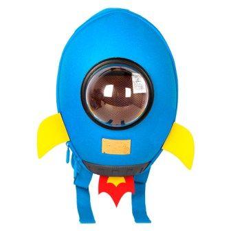 Рюкзак Supercute Ракета Голубой