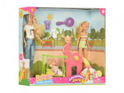 Кукла DEFA 8409  игровая площадка