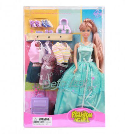 Кукла DEFA  с одеждой