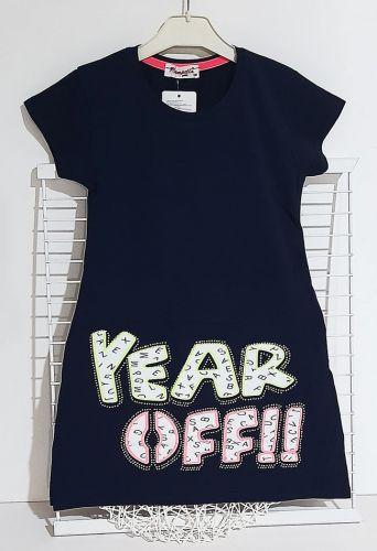 Платье YEAR OFF Синий темный