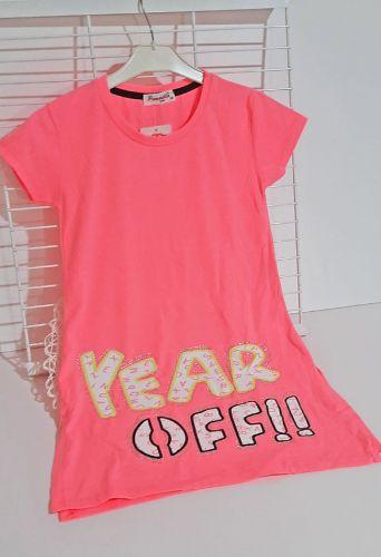 Платье YEAR OFF Розовый