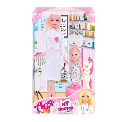Набор с куклой Мой доктор 28 см, блондинка