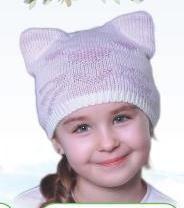 Шапка Котик Розовый
