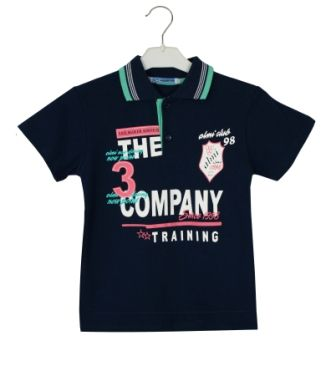 Футболка Поло Company Синий