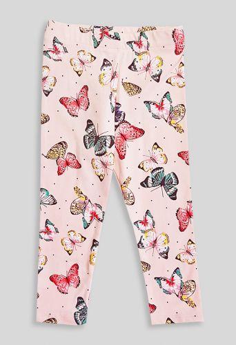 Лосины Бабочки Розовый