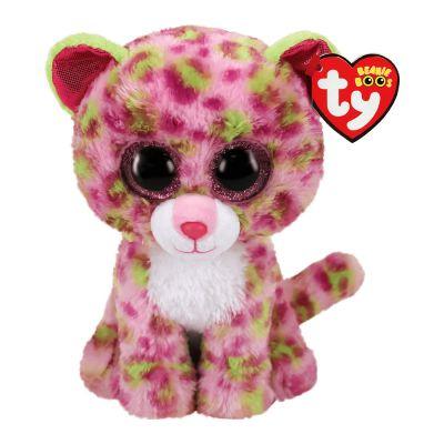 Мягкая игрушка TY Beanie Boos Розовый леопард 15см