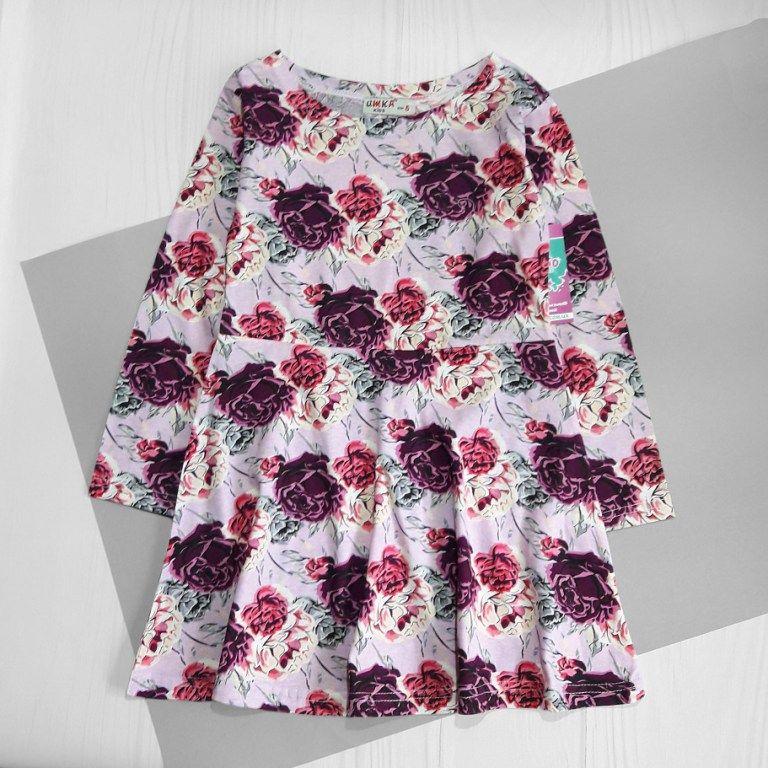Платье Розочки Розовый