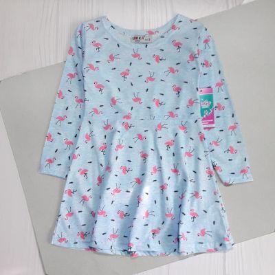 Платье Фламинго Голубой