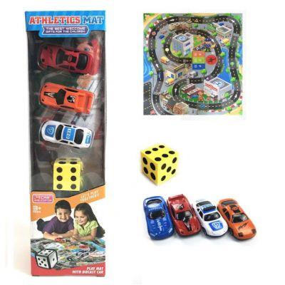 Игровой коврик Rally машинки