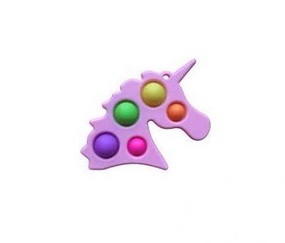 Игрушка антистресс Единорог брелок