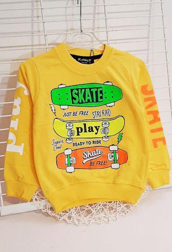 Джемпер Skate play Желтый