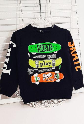 Джемпер Skate play Синий темный