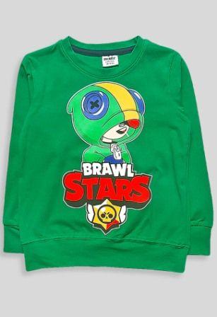 Джемпер Brawl Stars Зеленый