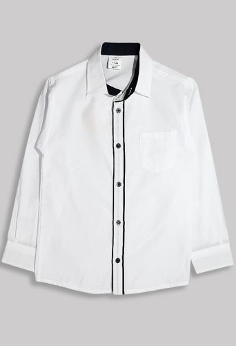 Рубашка Синяя планка Белый