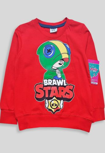 Джемпер Brawl Stars Красный