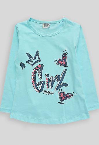 Джемпер Girl Голубой