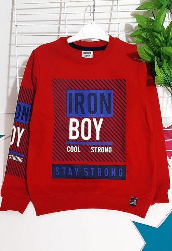 Джемпер Iron Boy Красный