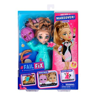 Игровой набор с куклой FAILFIX серии TOTAL Makeover Диджейка