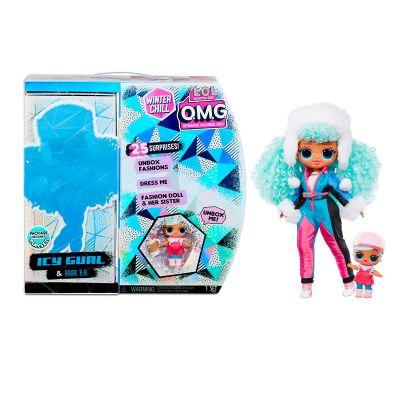 Игровой набор с куклой LOL SURPRISE серии OMG Winter Chill ледяная Леди