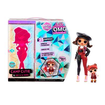 Игровой набор с куклой LOL SURPRISE серии OMG Winter Chill прекрасная леди