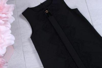 Платье кружево Черный