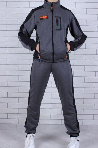 Костюм спортивный FS1305689 Серый темный