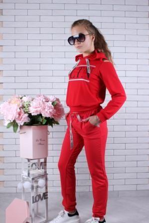 Костюм трикотажный VLTN Красный