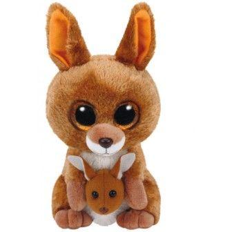 TY игрушка мягконабивная Кенгуру Kipper 15см