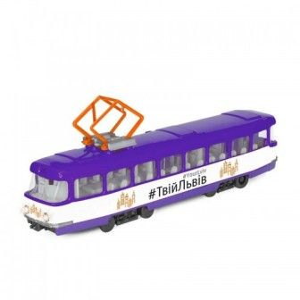 Модель городской трамвай ЛЬВОВ
