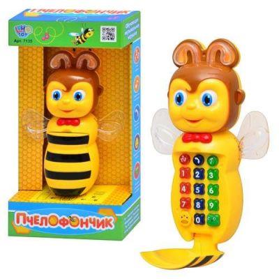 Музыкальный телефон Пчелка