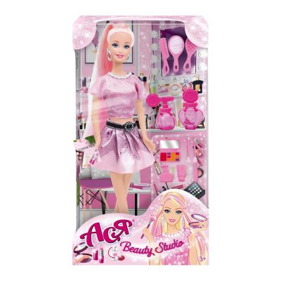 Набор с куклой Асей Салон красоты