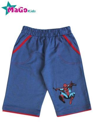 Шорты Человек паук Синий