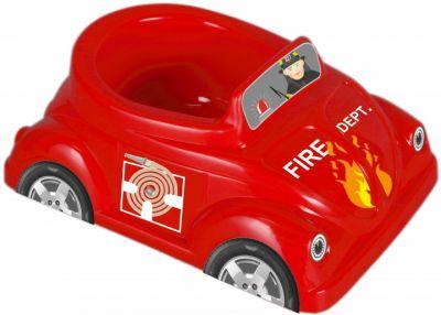 Горшок Car красный
