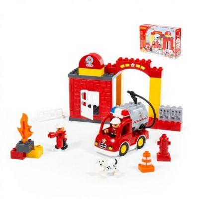 Конструктор макси пожарная станция