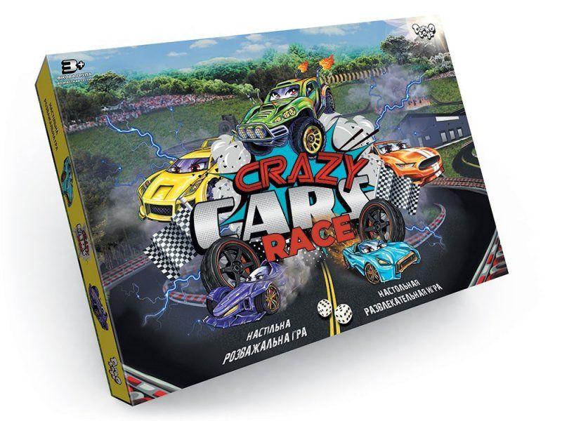 Настольная игра Crazy Cars Race