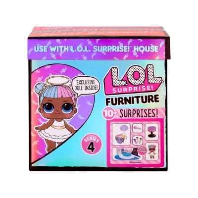 Игровой набор с куклой LOL SURPRISE серии Furniture ЛЕДИ CАХАРОК