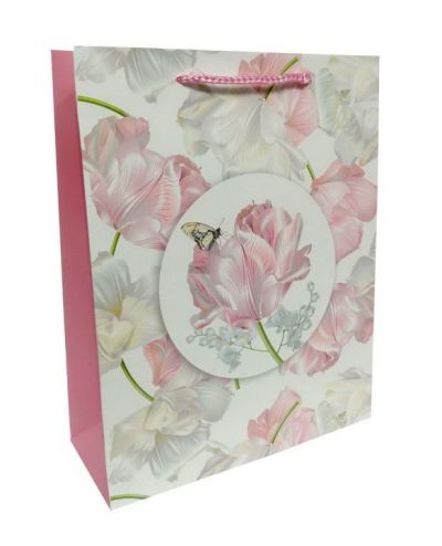 Пакет картон Нежный цвет