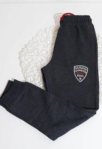 Спортивные брюки Эмблема Серый