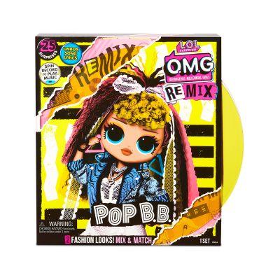 Игровой набор с куклой LOL SURPRISE серии OMG Remix ДИСКО ЛЕДИ
