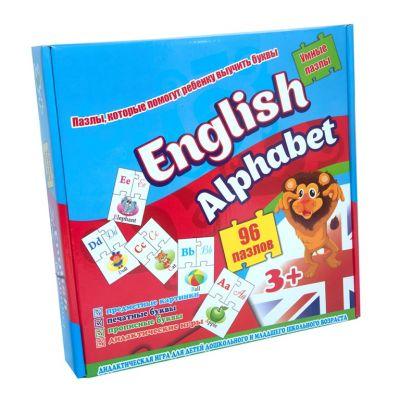 Пазлы 539  Стратег English alphabet