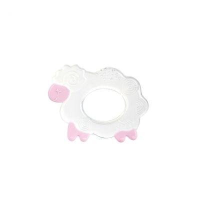 Прорезыватель для зубов силиконовый овечка