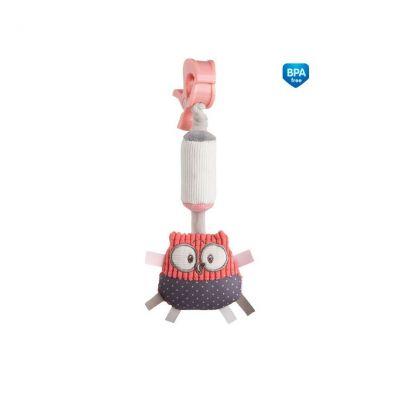 Игрушка плюшевая с колокольчиком Pastel Friends