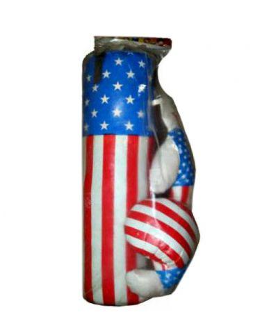 Боксерский набор USA средний
