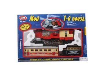 Железная дорога PLAY SMART Мой 1-й поезд
