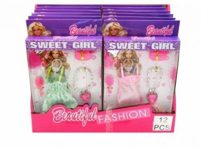 Набор платьев для кукол Barbie
