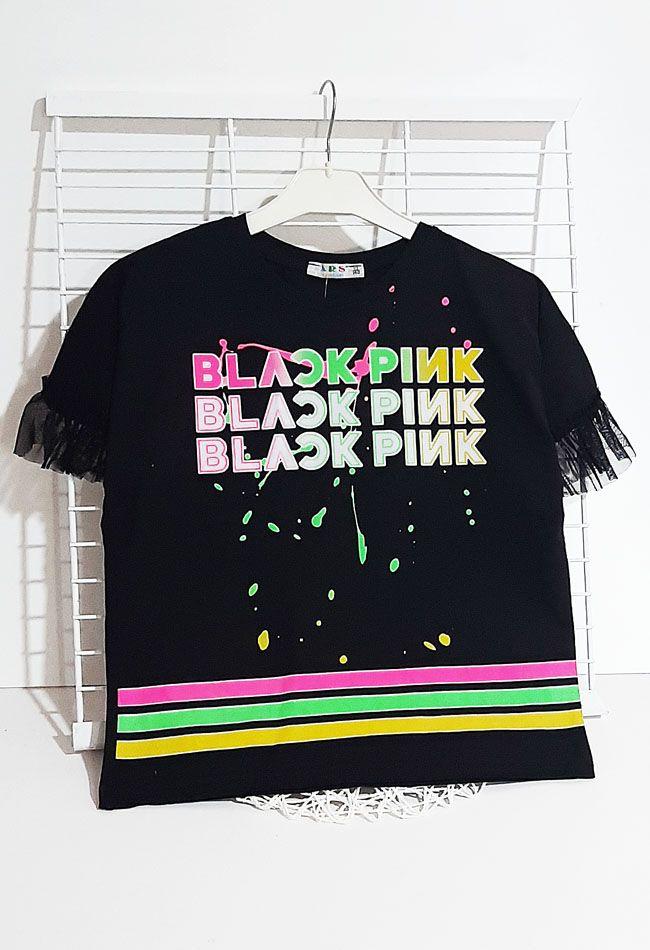 Футболка Black pink Черный