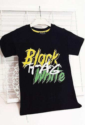 Футболка Black white Черный