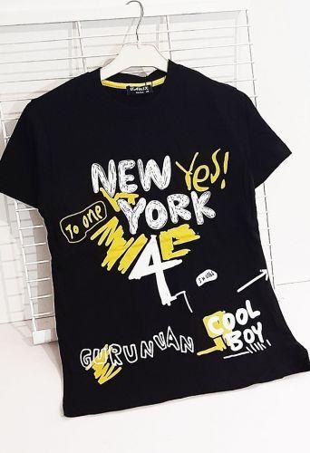 Футболка New York yes! Черный