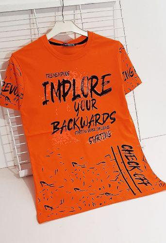 Футболка Implore your Оранжевый